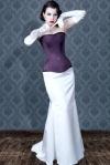 Purple corset (bk-32)