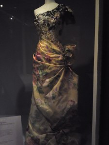 Christian Lacroix gown at the V&A